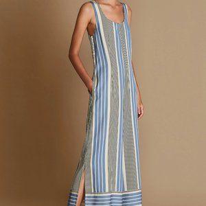 """NWOT Sancia """"Leondrea"""" Striped Jumpsuit sz S"""